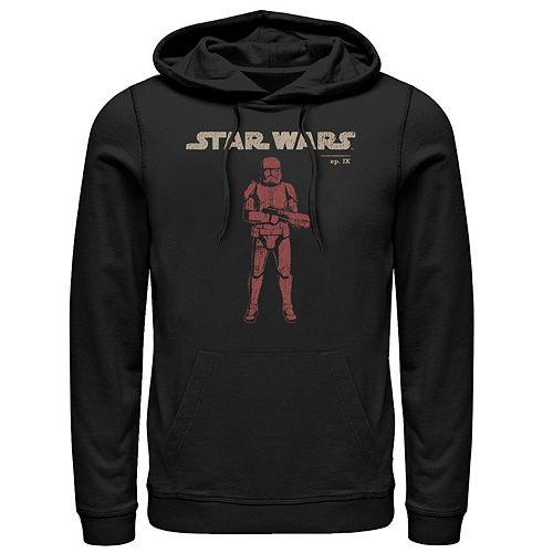 Men's Star Wars The Rise of Skywalker Retro Sith Trooper Graphic Hoodie
