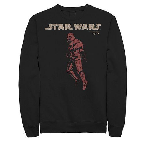 Men's Star Wars The Rise of Skywalker Sith Trooper Flight Sweatshirt