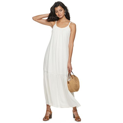 Women's Apt. 9® Tiered Maxi Dress