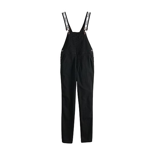 Juniors' Dickies Straight Fit Strap Overalls