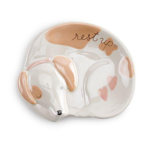 LC Lauren Conrad Sleeping Dog Spoon Rest