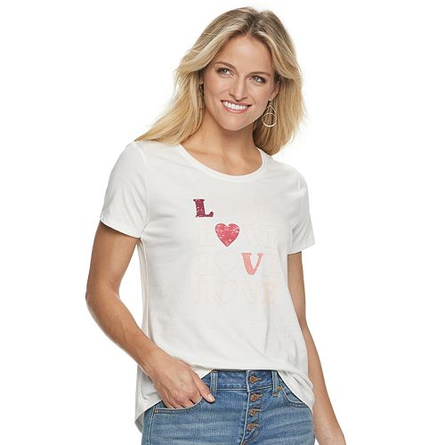Women's SONOMA Goods for Life™ Valentine's Day Graphic Tee