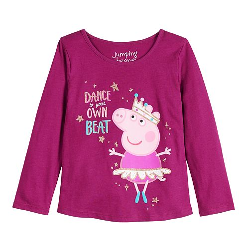 Toddler Girl Jumping Beans® Peppa Pig Own Beat Tee