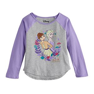"Disney's Frozen 2 Elsa & Anna Toddler Girl ""Better Together"" Graphic Tee by Jumping Beans®"