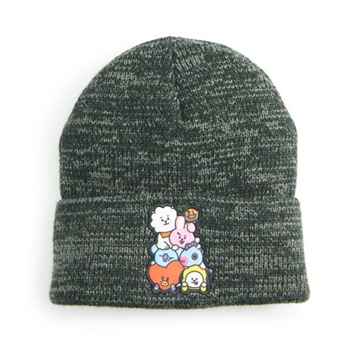 Women's BT21 Group Patch Large Cuff Beanie