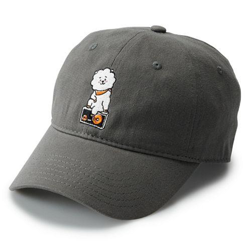 Women's BT21 Embroidered RJ Character Baseball Cap