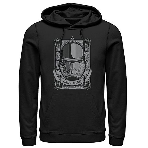 Men's Star Wars The Rise of Skywalker Sith Trooper Playing Card Pullover Hoodie