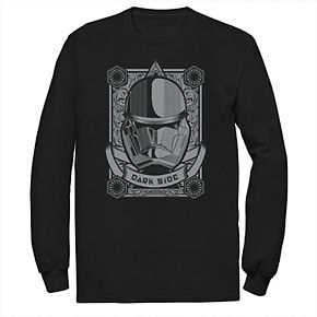 Men's Star Wars The Rise of Skywalker Sith Trooper Playing Card Tee