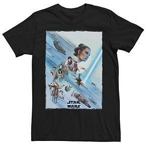 Men's Star Wars The Rise of Skywalker Rey Tee