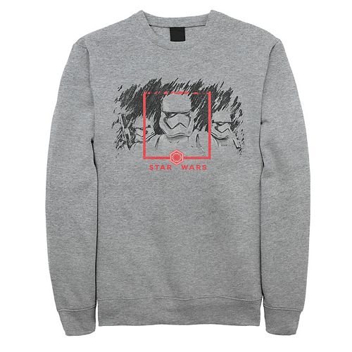 Men's Star Wars The Rise of Skywalker Stormtrooper Smudge Sweatshirt