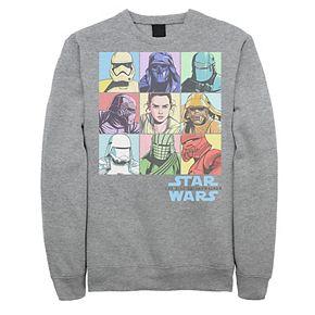 Men's Star Wars The Rise of Skywalker Character Box Sweatshirt