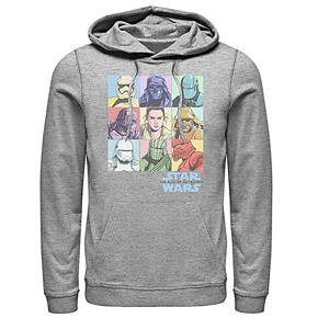 Men's Star Wars The Rise of Skywalker Character Box Pullover Hoodie