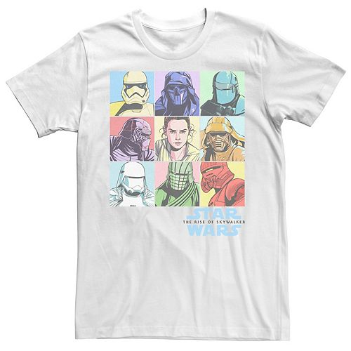 Men's Star Wars The Rise of Skywalker Character Box Tee