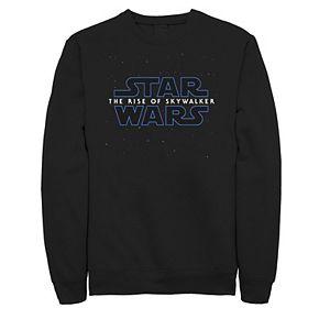 Men's Star Wars The Rise of Skywalker Starry Logo Sweatshirt