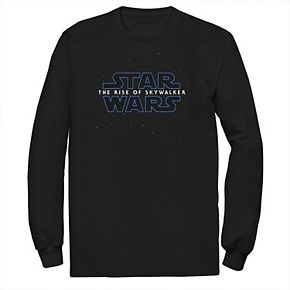Men's Star Wars The Rise of Skywalker Starry Logo Tee
