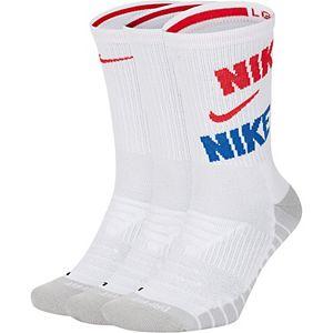 Men's Nike 3-pack Everyday Max Cushioned Training Crew Socks