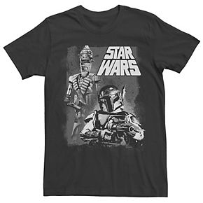 Men's Star Wars Bounty Hunters Boba Fett Tee