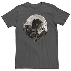 Men's Star Wars Last Jedi Rebels Moon Tee