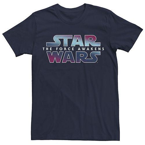 Men's Star Wars Gradient Fade Logo Tee