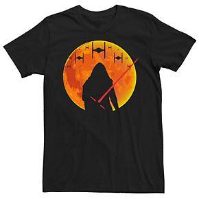 Men's Star Wars Kylo Ren Dark Moon Halloween Tee