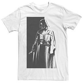 Men's Star Wars Darth Vader Split Tonal Tee