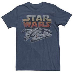 Men's Star Wars Lone Falcon Logo Tee