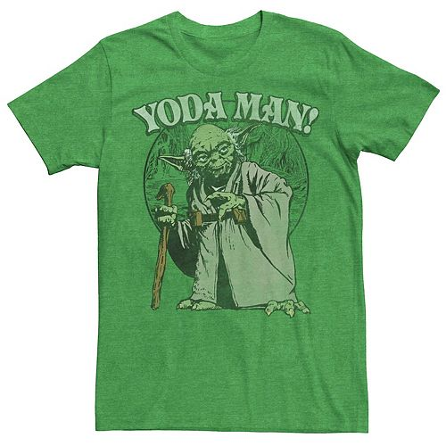 Men's Star Wars Yoda Man Tee