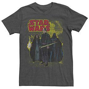 Men's Star Wars Retro Group Poster Tee