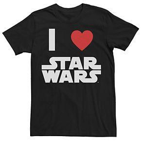Men's Star Wars Classic I Heart Star Wars Tee