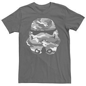 Men's Star Wars Stormtrooper Camo Helmet Tee