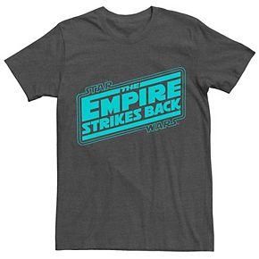 Men's Star Wars Empire Strikes Back Logo Tee
