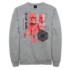 Men's Star Wars The Rise of Skywalker Trooper Schematic Detail Sweatshirt