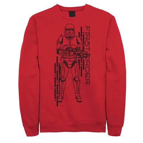 Men's Star Wars The Rise of Skywalker First Order Sith Sweatshirt