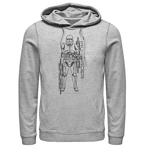 Men's Star Wars The Rise of Skywalker First Order Sith Pullover Hoodie