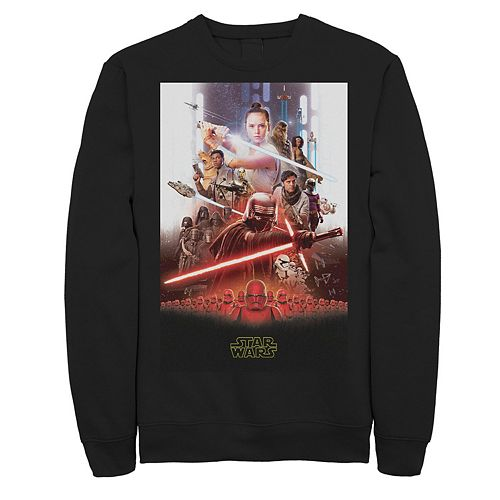 Men's Star Wars The Rise of Skywalker Epic Poster Fleece Graphic Top