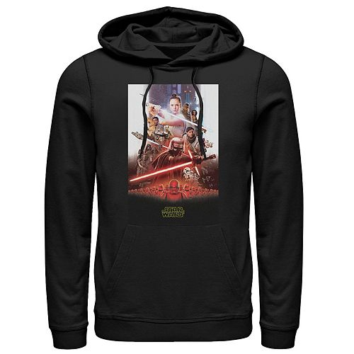 Men's Star Wars The Rise of Skywalker Epic Poster Graphic Hoodie