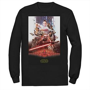 Men's Star Wars The Rise of Skywalker Epic Poster Long Sleeve Graphic Tee