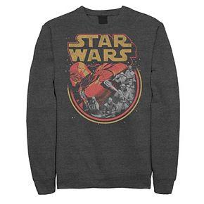 Men's Star Wars The Rise of Skywalker Retro Knights of Ren Fleece Graphic Top