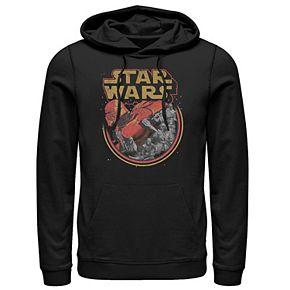 Men's Star Wars The Rise of Skywalker Retro Knights of Ren Graphic Hoodie
