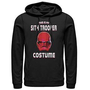 Men's Star Wars The Rise of Skywalker Halloween Sith Trooper Costume Graphic Hoodie