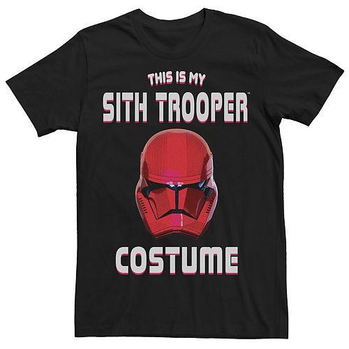 Men's Star Wars The Rise of Skywalker Halloween Sith Trooper Costume Graphic Tee