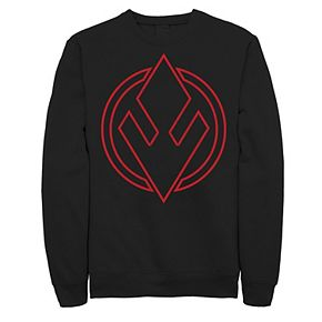 Men's Star Wars The Rise of Skywalker Sith Trooper Symbol Fleece Graphic Top