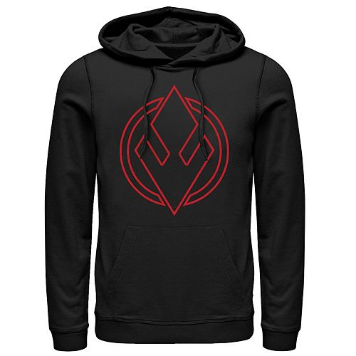 Men's Star Wars The Rise of Skywalker Sith Trooper Symbol Graphic Hoodie
