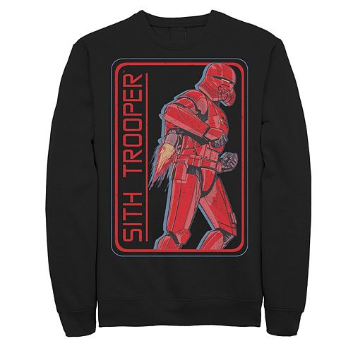 Men's Star Wars The Rise of Skywalker Sith Trooper Rocket Fleece Graphic Top