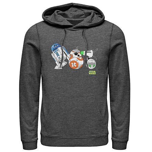 Men's Star Wars The Rise of Skywalker Droid Party Graphic Hoodie
