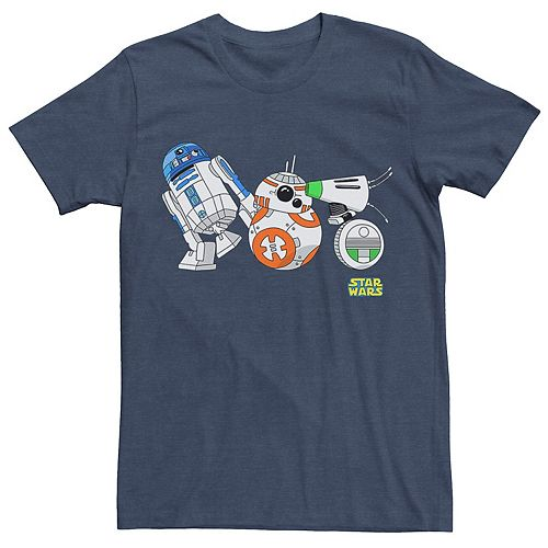 Men's Star Wars The Rise of Skywalker Droid Party Graphic Tee