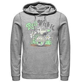 Men's Star Wars The Rise of Skywalker D-0 Roll With It Graphic Hoodie