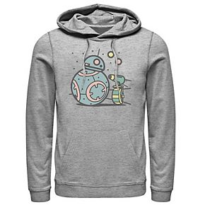 Men's Star Wars The Rise of Skywalker Droid Cuties Graphic Hoodie
