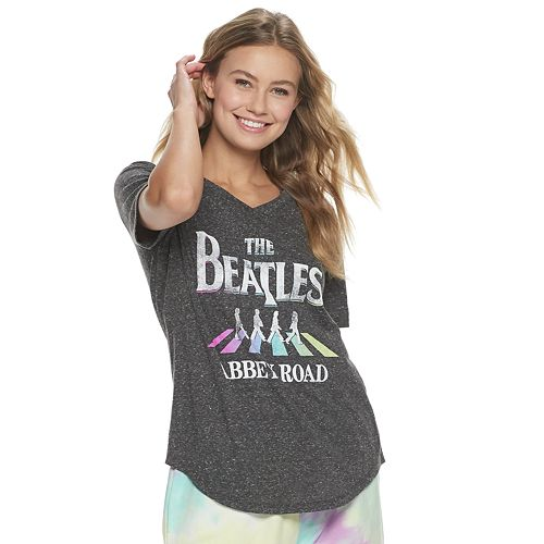 Juniors' The Beatles Abbey Road Graphic Tee