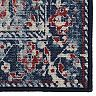 RugSmith Rust Salerno Distressed Vintage Inspired Area Rug